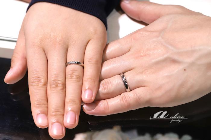 譲り受けたチェーンを溶かして結婚指輪