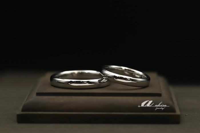 鍛造結婚指輪のオーダーメイド緑区からご来店
