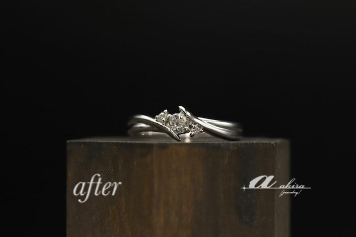 譲り受けた指輪を普段使いにリフォーム四街道市からご来店