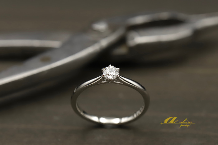 ダイヤモンドルースでプロポーズ