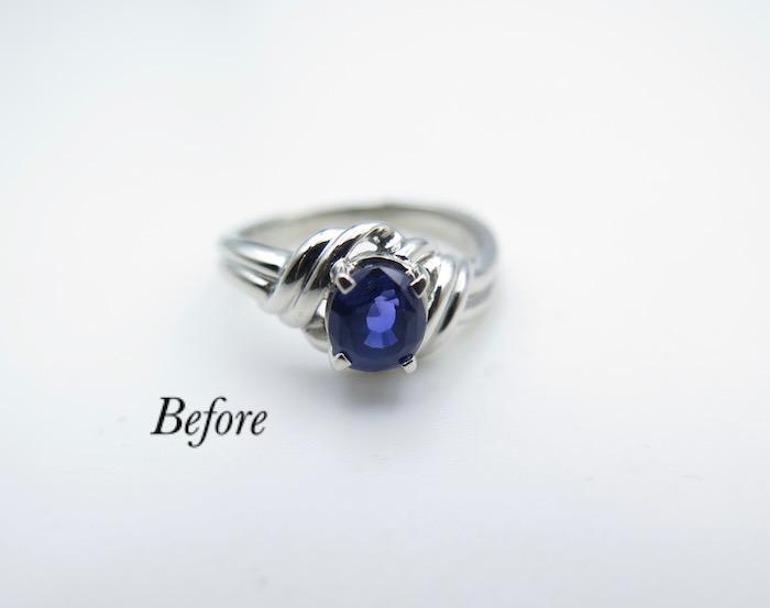 使い勝手の良い指輪にリフォーム