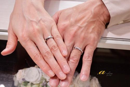 銀婚式の記念に新しく結婚指輪のご注文
