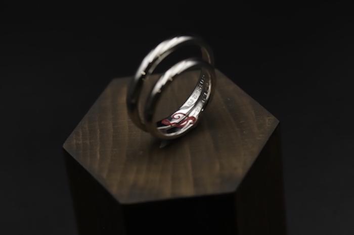 結婚指輪オーダーご注文のお客様写真
