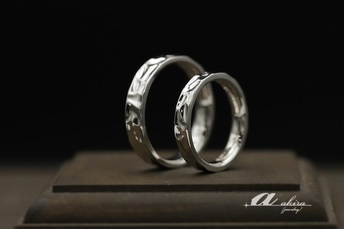 結婚20周年の磁器婚式に結婚指輪のオーダーメイド