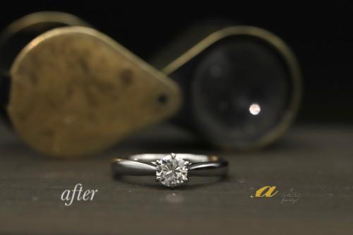 家族から譲り受けた特別な婚約指輪を新たな婚約指輪に