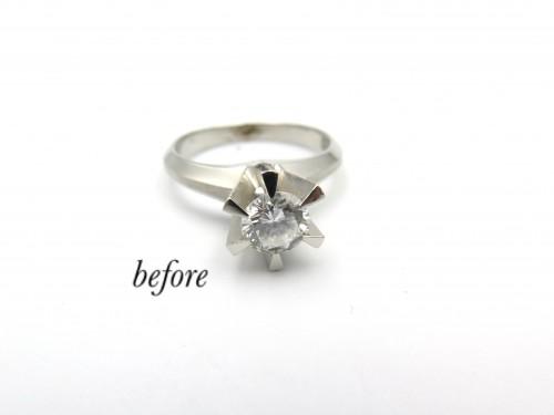茂原市からお越しのお客様婚約指輪のご注文有難う御座いました